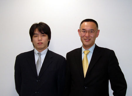 当社サポートスタッフの田中です